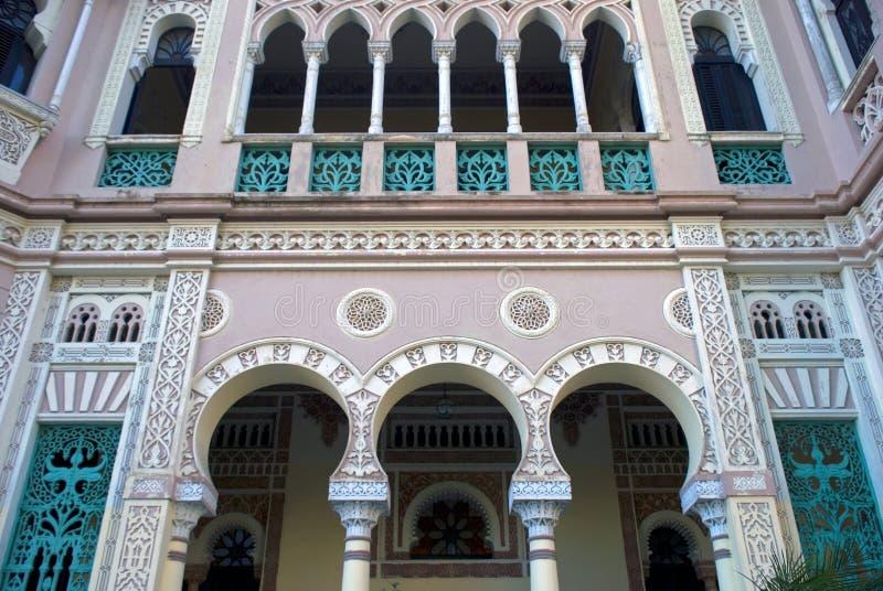 Valle pałac, Cienfuegos, Kuba obrazy royalty free