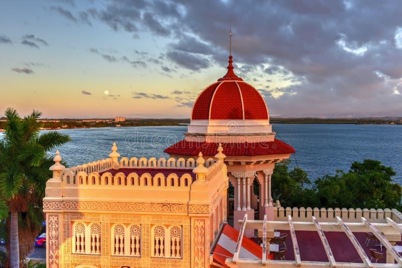 Valle Palace - Cienfuegos, Cuba stock photos