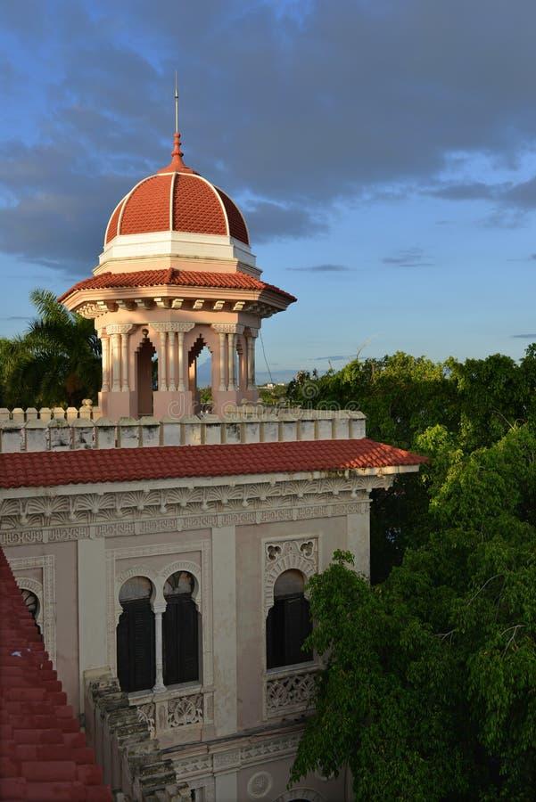 Valle-Palast, Cienfuegos, Kuba stockfoto