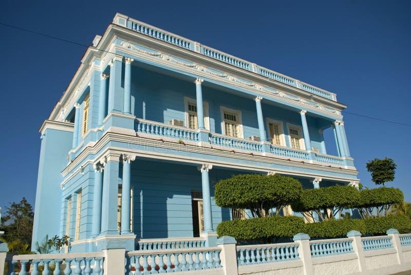 Valle Paleis, Cienfuegos, Cuba stock foto's