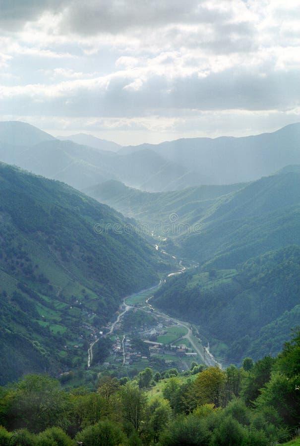 Valle rumano imagenes de archivo