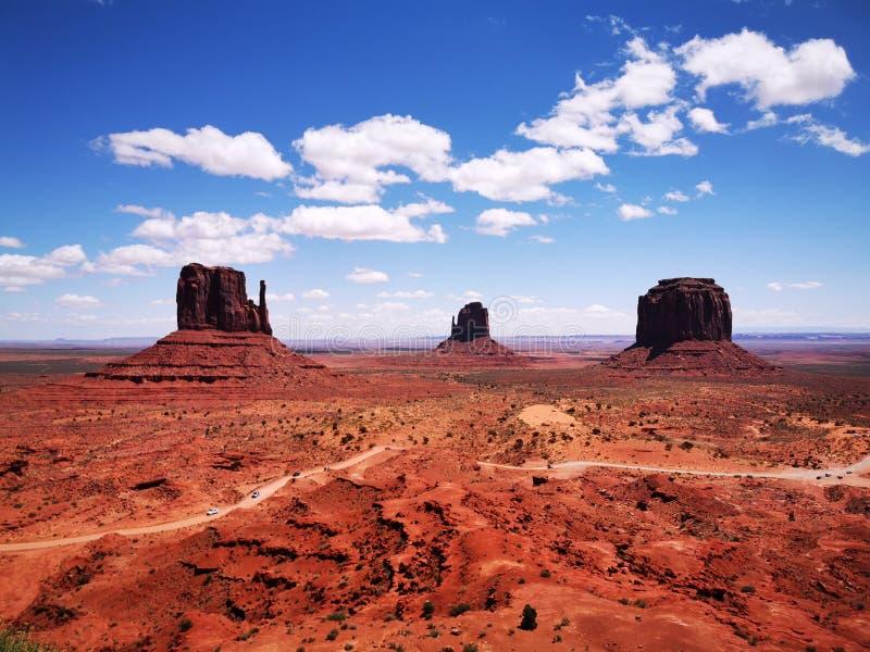 Valle S.U.A. del monumento fotografie stock libere da diritti