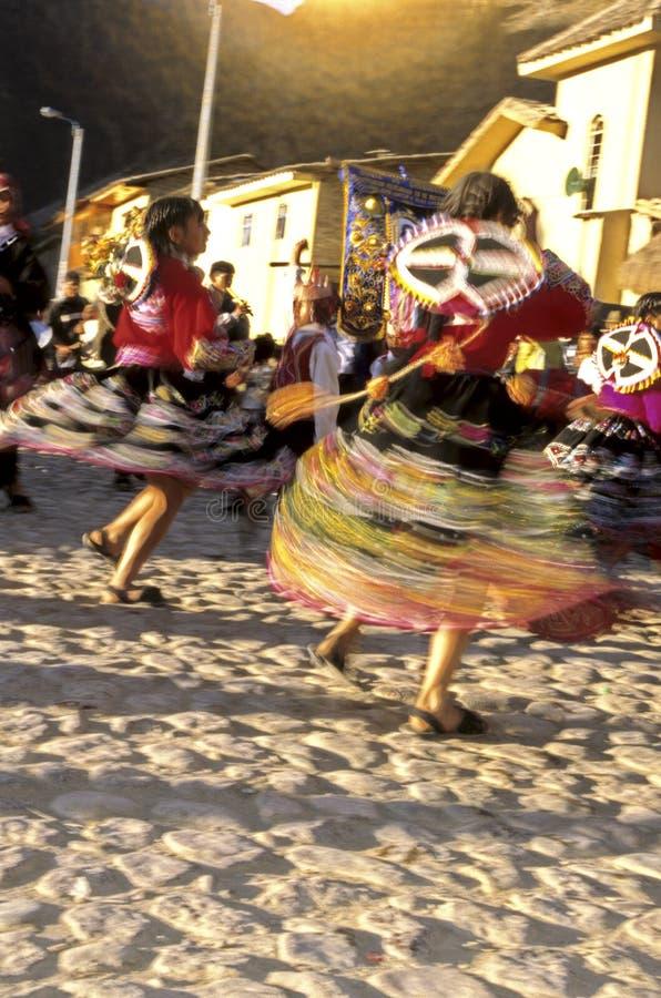 Valle sagrado de los bailarines peruanos, Perú fotos de archivo libres de regalías