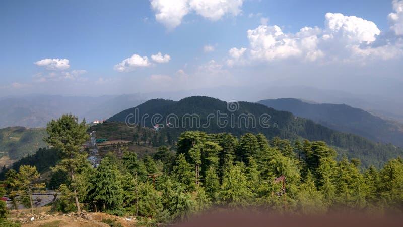 Valle verde di shimla fotografie stock libere da diritti