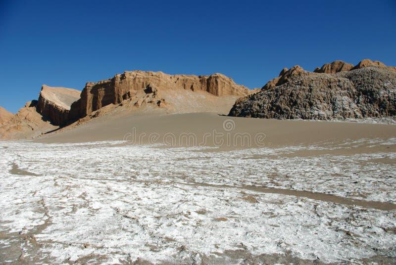 Vallede-La Luna, Chile lizenzfreie stockfotografie