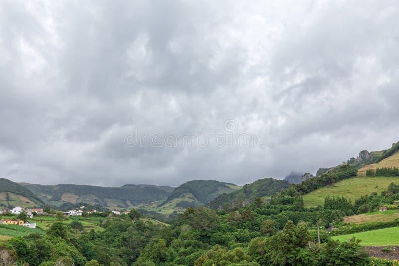 Vallei en Fazenda DE Santa Cruz stock foto's