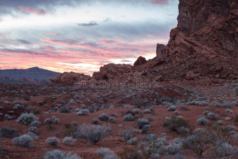 Vallei van Brand, Nevada royalty-vrije stock fotografie