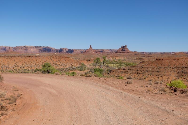 Vallei van de Goden, Utah royalty-vrije stock foto