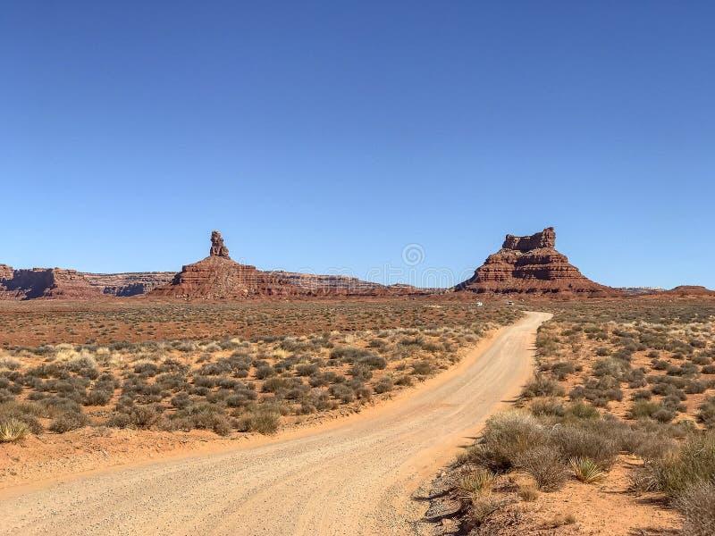 Vallei van de Goden, Utah royalty-vrije stock afbeelding