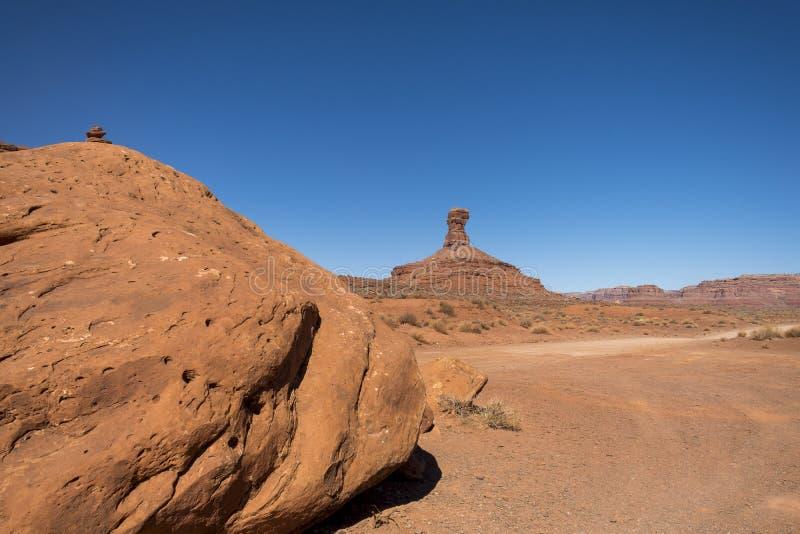 Vallei van de Goden, Utah stock foto