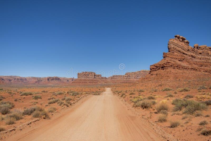 Vallei van de Goden, Utah stock afbeeldingen