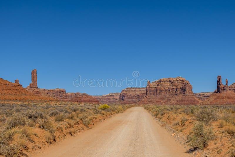 Vallei van de Goden, Utah royalty-vrije stock fotografie