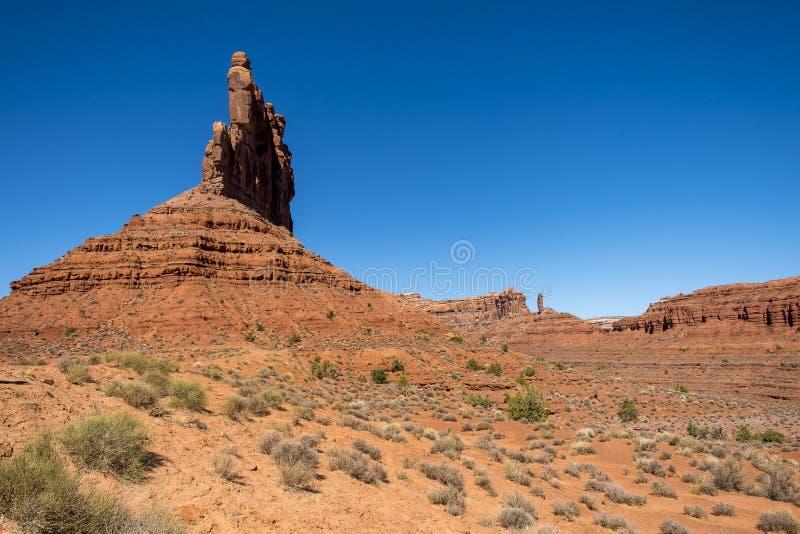 Vallei van de Goden, Utah royalty-vrije stock foto's