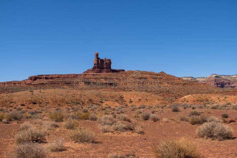 Vallei van de Goden, Utah stock afbeelding