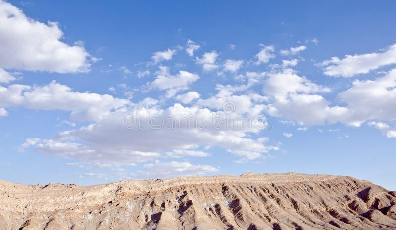 Vallei van de Woestijn van Atacama van de Maan Chili #2 royalty-vrije stock foto
