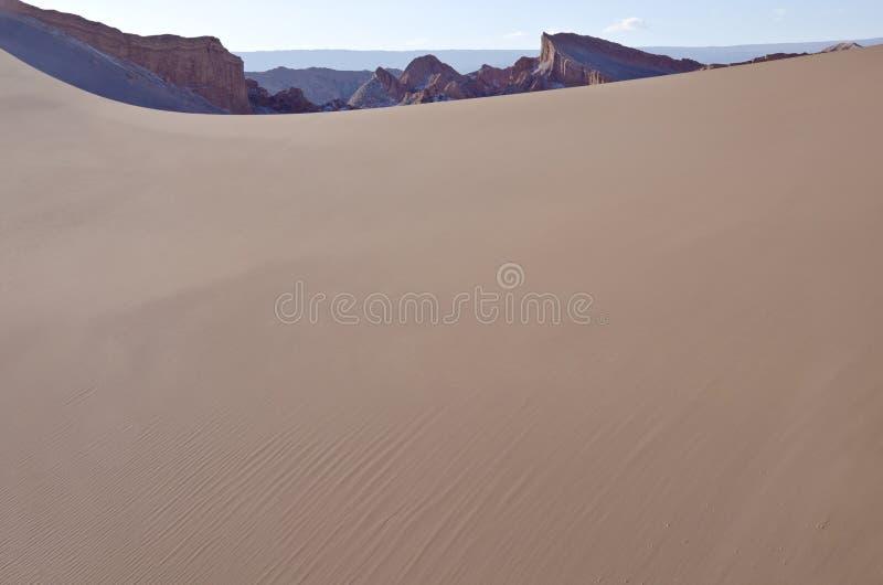 Vallei van de Woestijn van Atacama van de Maan Chili #3 royalty-vrije stock foto