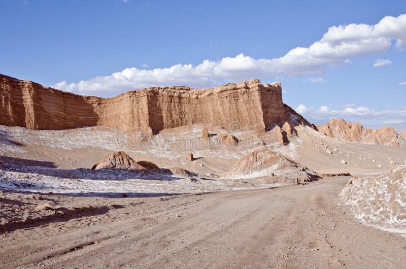 Vallei van de Woestijn van Atacama van de Maan Chili #6 royalty-vrije stock foto's