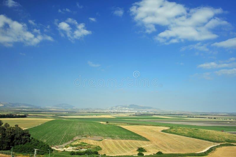Vallei van Jezreel van Carmel royalty-vrije stock afbeeldingen