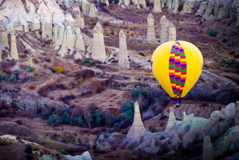 Vallei van Liefde Goreme Cappadocia Turkije royalty-vrije stock foto's