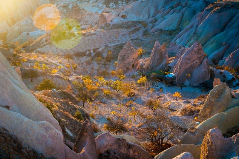 Vallei van Liefde Goreme Cappadocia Turkije stock foto