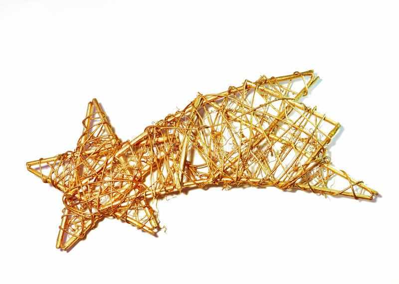 Vallend ster stock afbeelding