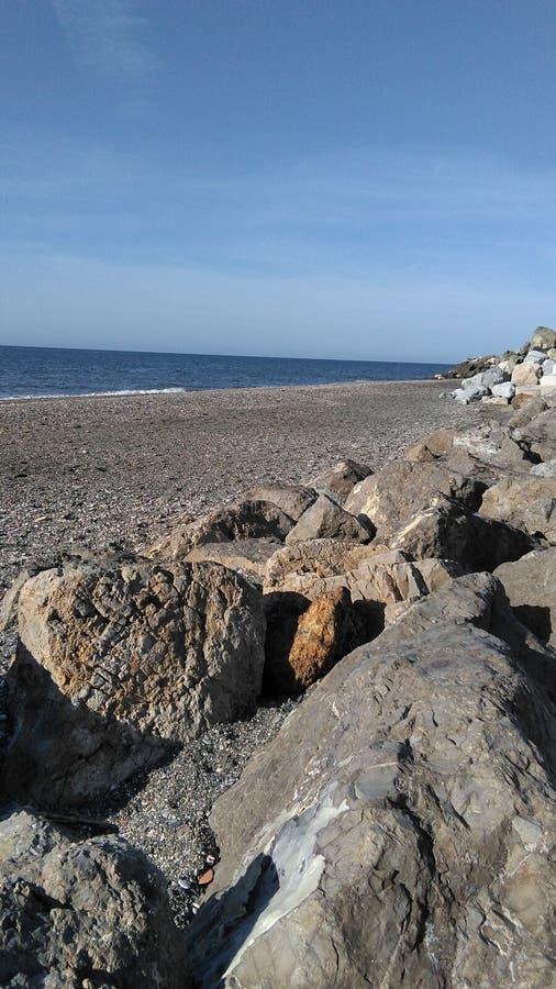 Vallenizaen, s-strand arkivbilder