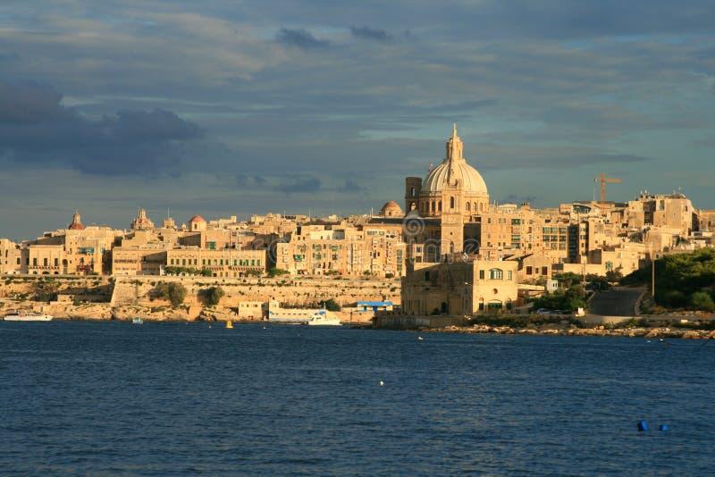 Valletta lizenzfreie stockfotos