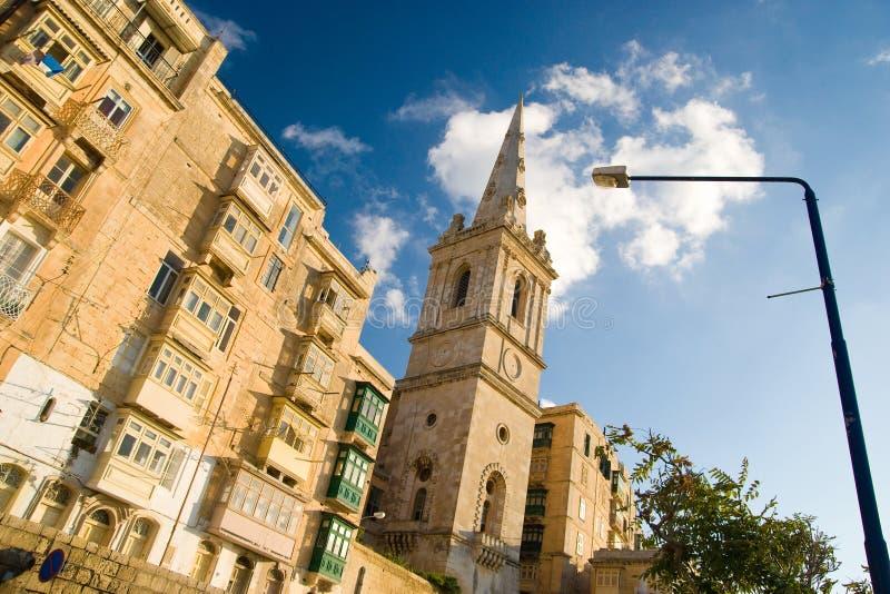Valletta lizenzfreie stockfotografie