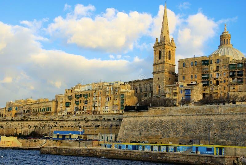 Valletta fotografía de archivo libre de regalías