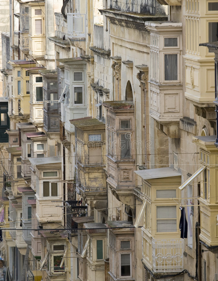 Valletta foto de archivo