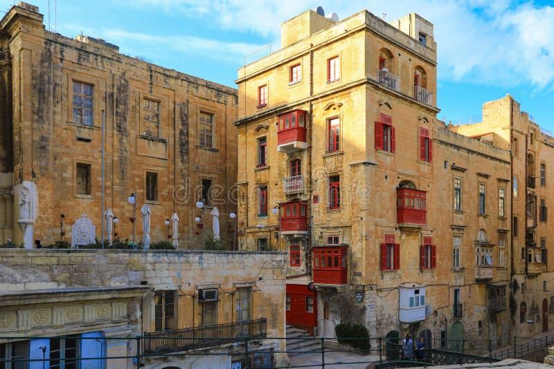 Valletta, capital de Malta imagens de stock royalty free