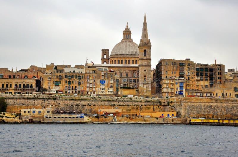 Download Valletta cityscape stock image. Image of tourism, coast - 38081901