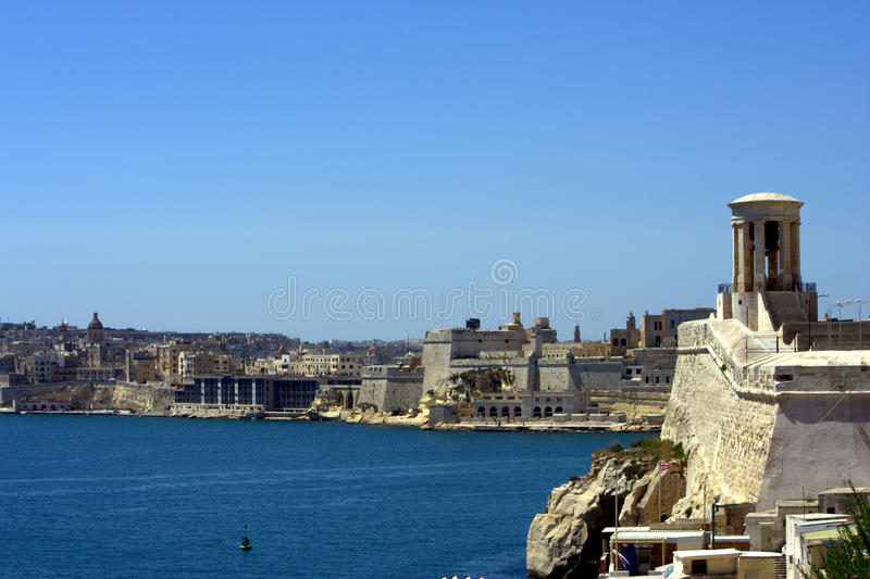 Download Valletta harbour stock photo. Image of island, tourist - 16499120