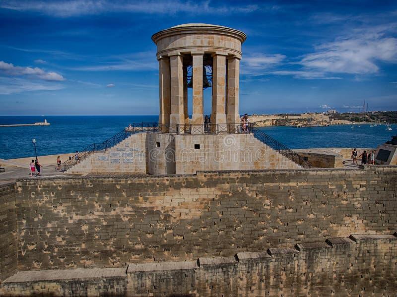 Valletta koszaruje fotografia royalty free
