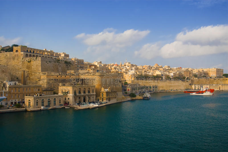Download Valletta, Malta stock photo. Image of city, seascape - 12555248