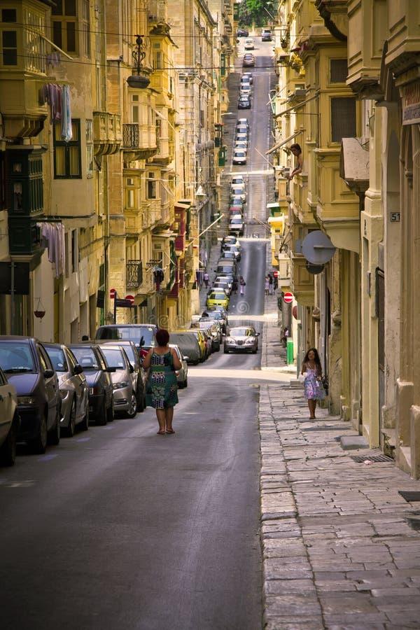 Valletta, Malta stock foto's