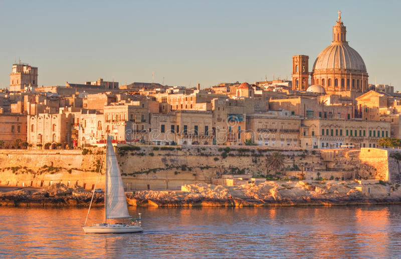 Download Valletta, Malta stock image. Image of marina, europe - 25639351
