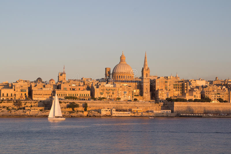 Valletta, Malta. The capital city Valletta, Malta royalty free stock images