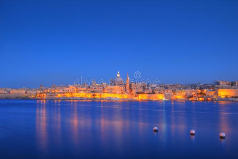 Valletta, Malta stockfoto