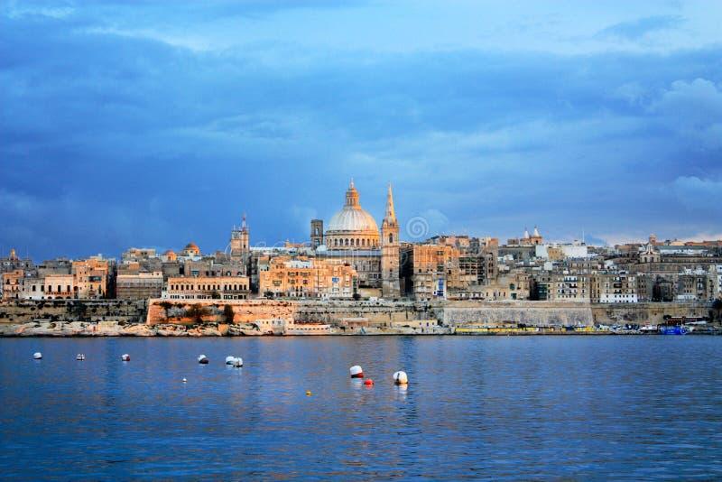 Valletta Malta royaltyfri bild