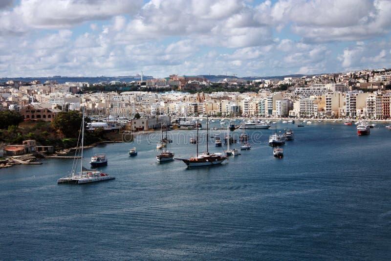 Valletta Malta arkivbild