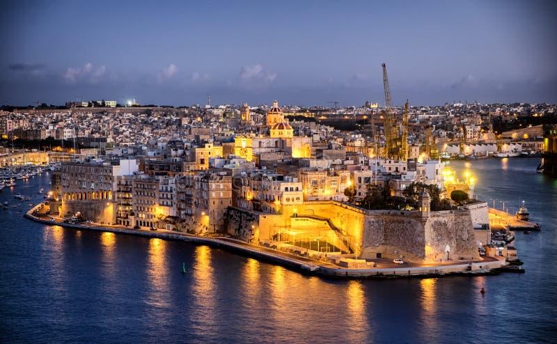 Valletta - malta royaltyfria foton