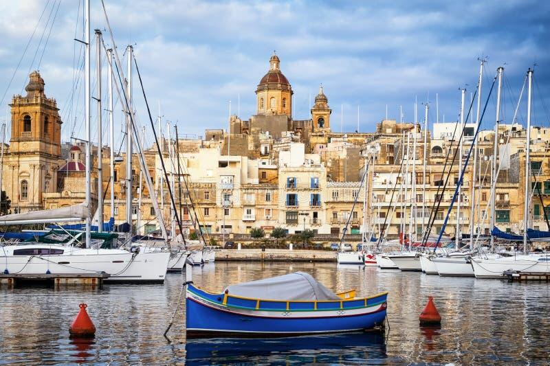 Valletta - Malta stockbilder