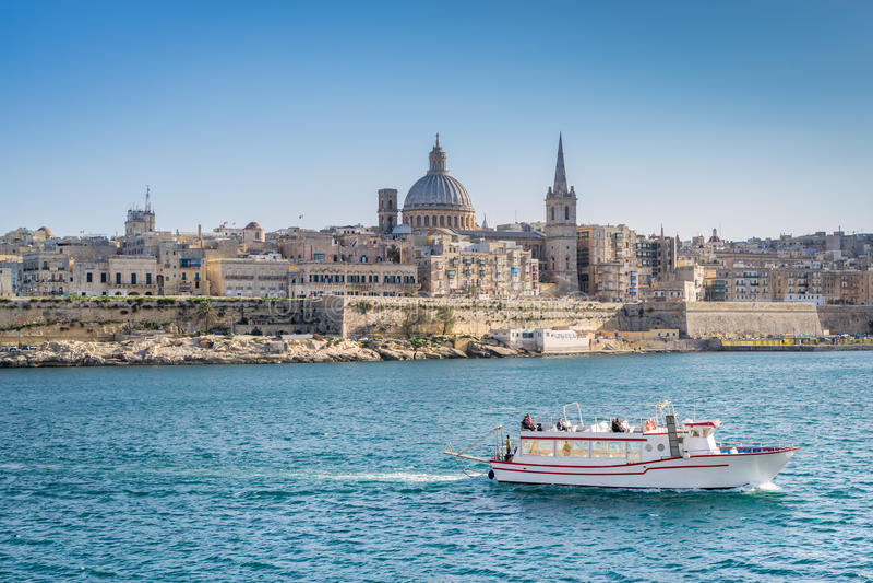 Valletta Malta fotografia de stock