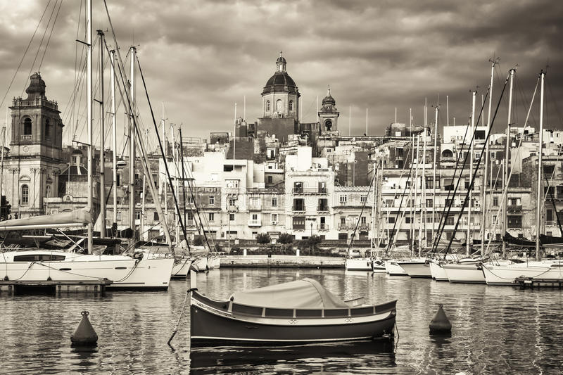 Valletta - malta arkivbild