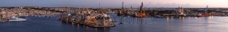 Valletta - Malta lizenzfreies stockbild