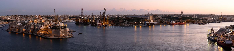 Valletta - malta royaltyfria bilder
