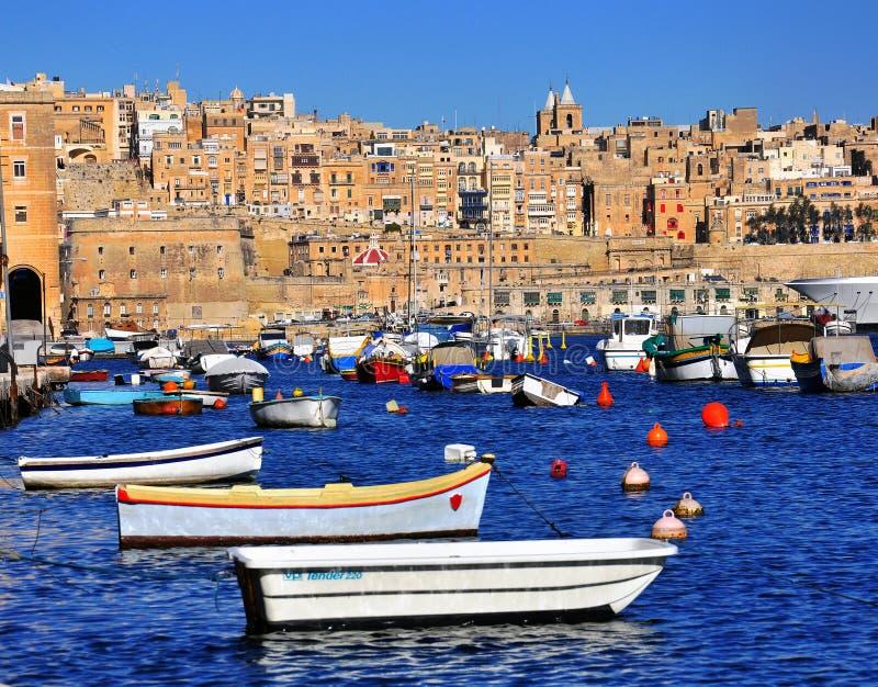 Valletta, Malta fotografía de archivo