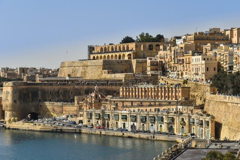 Valletta Malta royaltyfri foto