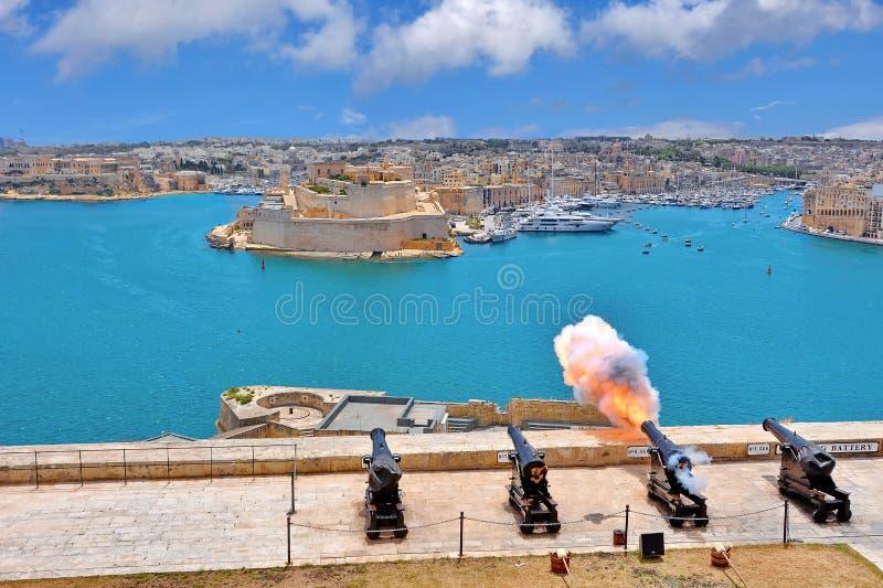 Valletta, Malta stockfotografie